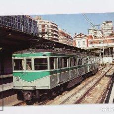 Postales: POSTAL - Nº 379 COCHE 311-301 METRO DE BARCELONA SERIE 301-304 / 311-314 - TERRASA 1983 - EUROFER. Lote 178833773