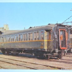 Postales: 282 - TARJETA POSTAL COCHE 3ª CLASE CC-2946 VERDERÓN EX MZA TCWFF V 3, 1934 ,EUROFER SIN CIRCULAR. Lote 171257359