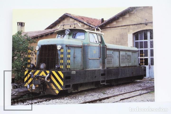 POSTAL DE TREN - Nº 798 FC. PALMA-SOLLER / LOCOMOTORA DIESEL HIDRÁULICA D1- SOLLER 1996 - EUROFER (Postales - Postales Temáticas - Trenes y Tranvías)