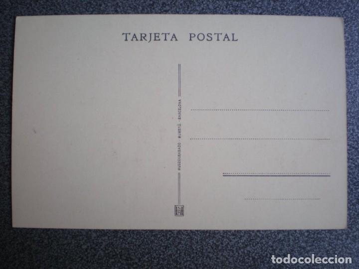 Postales: CAMINOS DE HIERRO DEL NORTE DE ESPAÑA - TREN ELÉCTRICO LINEA ZARAGOZA POSTAL ANTIGUA - Foto 2 - 174545254
