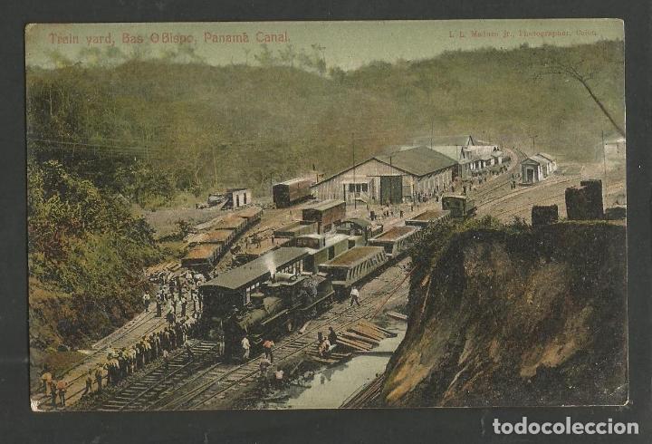 PANAMA-FERROCARRIL-VER REVERSO SIN DIVIDIR-(62.038) (Postales - Postales Temáticas - Trenes y Tranvías)