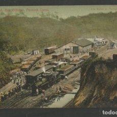 Postales: PANAMA-FERROCARRIL-VER REVERSO SIN DIVIDIR-(62.038). Lote 175709268