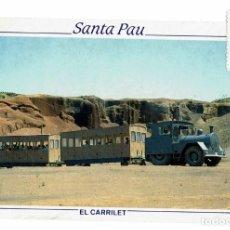 Postales: POSTAL SANTA PAU / EL CARRILET / ZONA VOLCÀNICA DE LA GARROTXA / PARC NATURAL / PICART. Lote 178994533