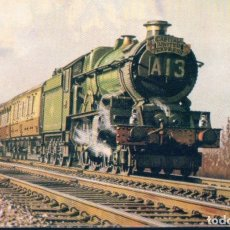 Postales: POSTAL LOCOMOTORA . A WR KING CLASS 4-6-0- HEADS THE UP CAPITAL UNITED EXPRESS. Lote 179069613