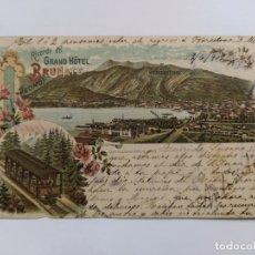 Postales: GRAND HOTEL BRUNATE-TRANVIA-VER REVERSO SIN DIVIDIR-(63.226). Lote 180027615