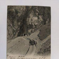 Postales: FERROCARRIL-GRAND TUNNEL DE NAYE-VER REVERSO SIN DIVIDIR-(63.227). Lote 180027737