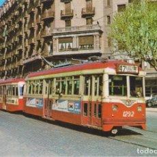 Postales: TRAM-VIES DE BARCELONA, COTXE 1292 – EDICIONS FERROVIARIES Nº 22 – S/C. Lote 180460048