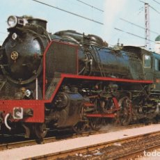 Postales: LOCOMOTORA 141 F 2413, EUSKALDUNA 1953/1960 – EDICIONS FERROVIARIES Nº 25 – S/C. Lote 180460123