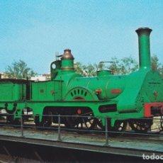Postales: LOCOMOTORA DEL CENTENARIO, F.C.BARCELONA / MATARO – EDICIONS FERROVIARIES Nº 26 – S/C. Lote 180460212