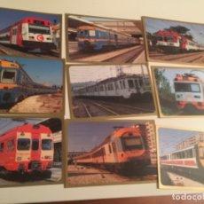 Postales: POSTAL EDICIONES DEL TREN , ZARAGOZA , 109 UNIDADES. Lote 180891331