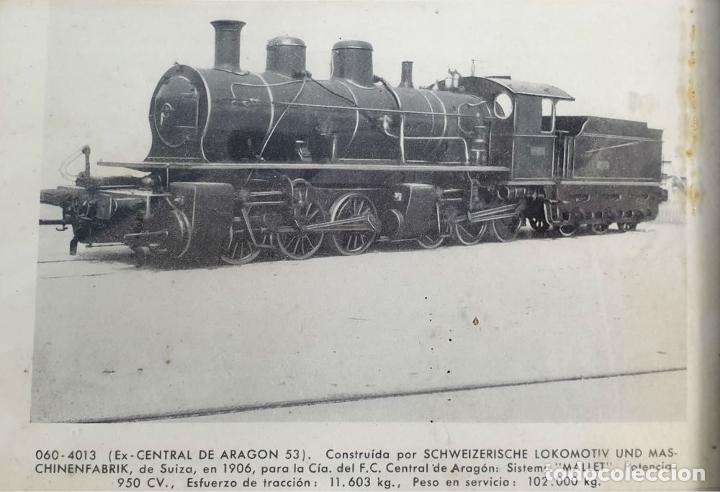 Postales: COMPOSICION DE 7 POSTALES FERROVIARIAS. DIFERENTES LOCOMOTORAS. SIGLO XX. - Foto 4 - 181468467