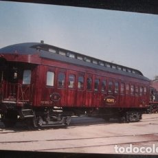Postales: COCHE 2ª CLASE BB-2597 EX MZA EX TBF CONSTRUCTOR HARLAND & HOLLINGS AÑO 1878 . Lote 182675313