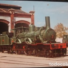 Postales: LOCOMOTORA 220-2005 EX OESTE Nº9 CONSTRUIDA POR HARTMANN EN 1881 VILANOVA I LA GELTRÚ 1972 FOTO. Lote 182676415