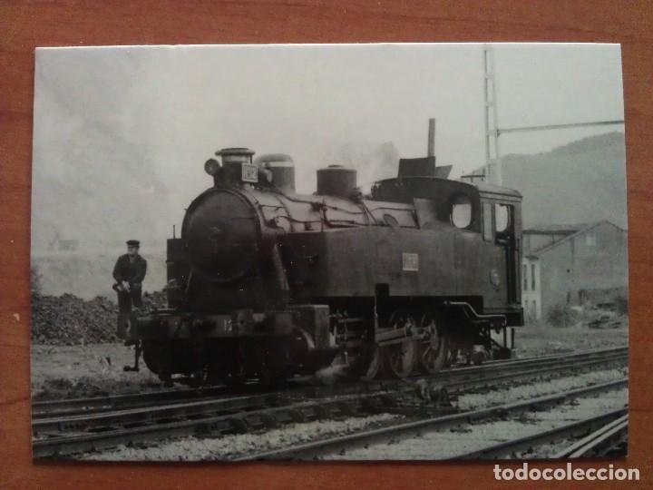 LOCOMOTORA A VAPOR0-4-OT (Postales - Postales Temáticas - Trenes y Tranvías)