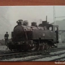 Postales: LOCOMOTORA A VAPOR0-4-OT. Lote 183025340