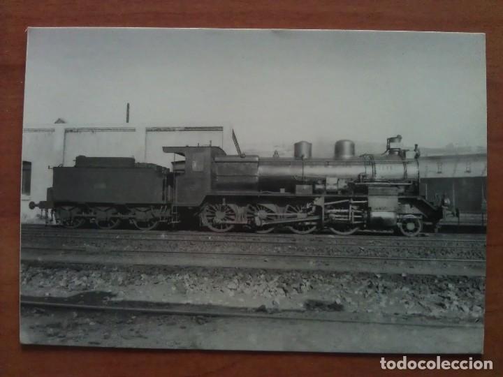 LOCOMOTORA VAPOR NORTE 4895 (Postales - Postales Temáticas - Trenes y Tranvías)