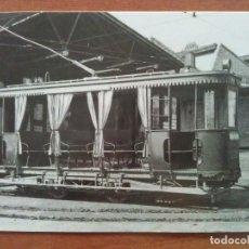 Postales: TRANVÍA CONSTRUIDO EN 1903. Lote 183026026