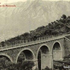 Postales: RARE SOLLER VIADUCTO DE MONRREALS. Lote 183346792