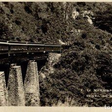Postales: REAL PHOTO TUNEL DE METLAO. Lote 183346810