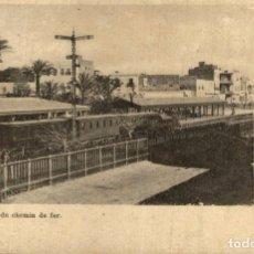 Postales: SUEZ STATION DU CHEMIN DE FER. Lote 183346837
