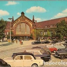 Postales: ALEMANIA & CIRCULADO, ESTACIÓN CENTRAL DE OSNABRÜCK, WEISSENFELS D.D.R 1967 (716). Lote 183412646