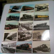 Postales: POSTALES DE TRENES. Lote 183459051