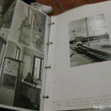 Postales: EXCEPCIONAL MONOGRAFICO MINAS POTASA SURIA FERROCARRILES RENFE ESTACION TREN VAGON 41 FOTOS. Lote 184043850