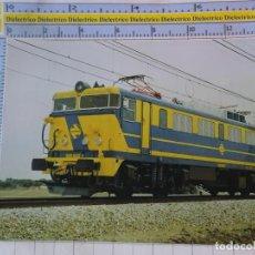 Postales: POSTAL DE TRENES. RENFE FERROCARRIL TREN AÑO 1983. LOCOMOTORA 269. 2226. Lote 184224071