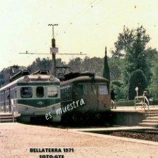 Postales: ESTACIÓN DE BELLATERRA - BARCELONA 1971. Lote 185499838