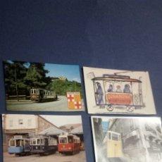 Postales: 6 POSTALES DE TRAMVIAS. Lote 186086040
