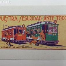 Postales: TRANVÍAS DE BARCELONA EXPOSICIÓN INTERNACIONAL 1929. Lote 188578236