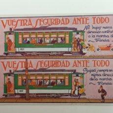 Postales: TRANVÍAS DE BARCELONA EXPOSICIÓN INTERNACIONAL 1929. Lote 188578763