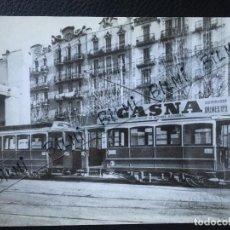 Postales: TRANVIAS DE BARCELONA, VIEJAS GLORIAS, CADANEROS, NUMERO 4176. Lote 189277325