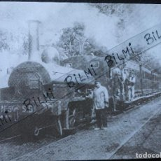 Postales: POSTAL TREN SARRIA A BARCELONA, NUMERO 4185. Lote 189277707