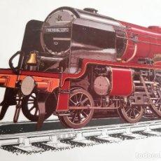Postales: POSTAL GRANDE 1927-1962 LOCOMOTORA TREN THE ROYAL SCOT LONDON - 28 X 19.CM. Lote 189567835