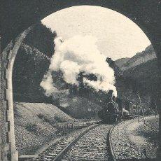Postales: TREN FERROCARRIL-EDICION F.DE LAS HERAS-JACA-POSTAL ANTIGUA-(66.355). Lote 191007177