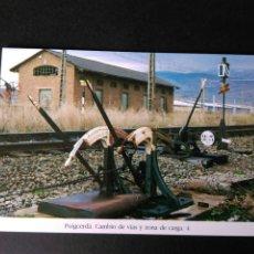 Postales: HISTORIA FERROCARRILES GERONA PUIGCERDÀ CAMBIO DE VIDA Y ZONA DE CARGA 4. Lote 191355593