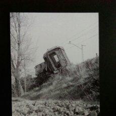 Postales: HISTORIA FERROCARRILES GERONA RIUDELLOTS DE LA SELVA. Lote 192359780