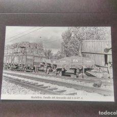 Postales: HISTORIA FERROCARRILES GERONA RIUDELLOTS DE LA SELVA 4. Lote 192360007