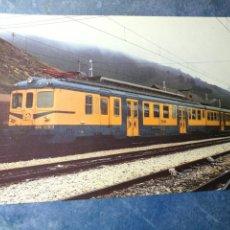 Postales: POSTAL DE RENFE. TREN M 10. UNIDADES ELÉCTRICAS 436-437-438. FERROCARRIL.. Lote 192507218