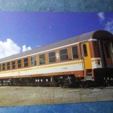 Postales: POSTAL DE RENFE. TREN R6. COCHES LITERAS SERIE 9600.FERROCARRIL.. Lote 192507692