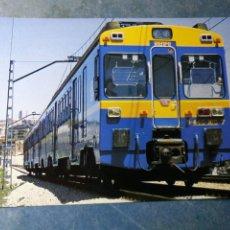 Postales: POSTAL DE RENFE. TREN. UNIDAD ELÉCTRICA SERIE 440. FERROCARRIL.. Lote 192508037