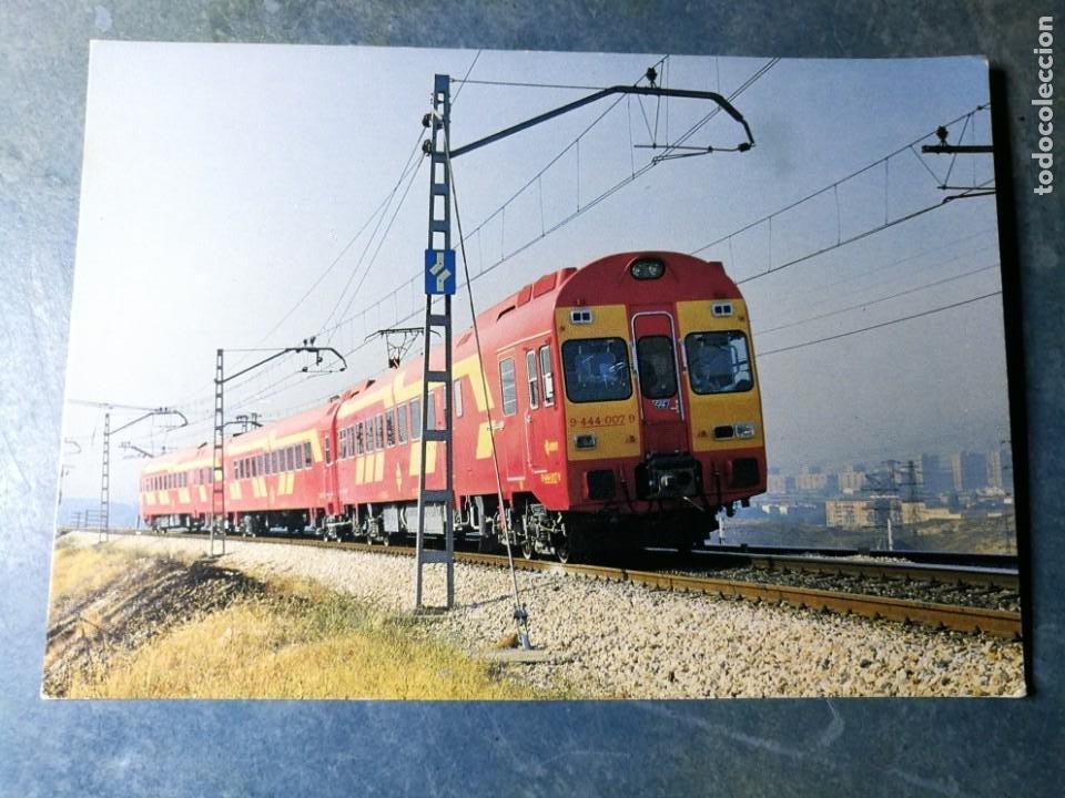 POSTAL DE RENFE. TREN ELECTROTREN SERIE 444. FERROCARRIL (Postales - Postales Temáticas - Trenes y Tranvías)