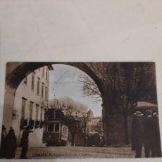 Postales: TRANVIAS COIMBRA PORTUGAL ARCO DO CASTELO. Lote 194266738