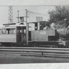 Postales: POSTAL TREN EUROFER 4294 - CARRILET REUS-SALOU TARRAGONA - LOCOMOTORA VAPOR PRIM. Lote 194552198