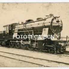 Postales: LOCOMOTORA SERIE 1400 LA MAQUINISTA TERRESTRE Y MARITIMA BARCELONA AÑO 1920 INCLUYE CARACTERISTICAS. Lote 194659353