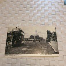 Postales: POSTAL POST CARD TRANVIA - MARKET PLACE, BEXLEYHEATH - BEXLEY LIBRARY SERVICES. Lote 194679730
