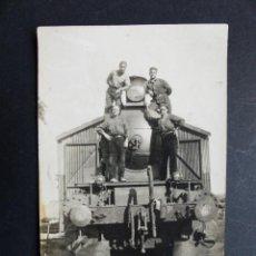Postales: BONITA POSTAL - ESTACION DE FERROCARRIL - AÑOS 1930-40. Lote 194706026