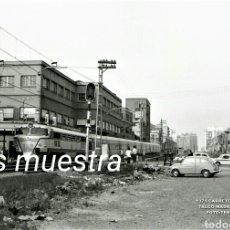 Postales: AÑOS 60 SABADELL TALGO MADRID BARCELONA. Lote 194952997