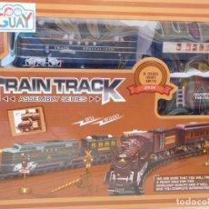 Postales: TREN COMPLETO (TRAIN TRACK).REPARAR (INTERUPTOR). Lote 202272957